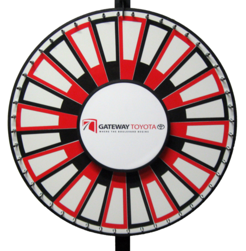 Custom Insert Prize Wheel Gallery